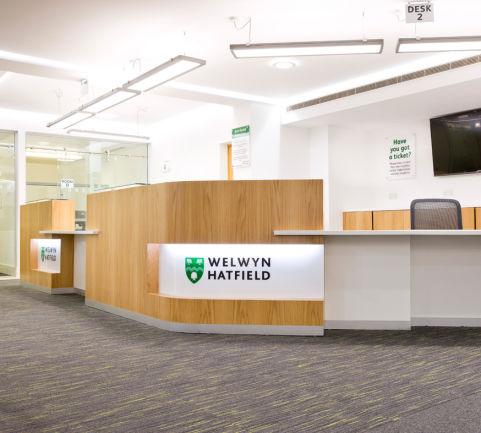 Welwyn Hatfield Front Desk Reception