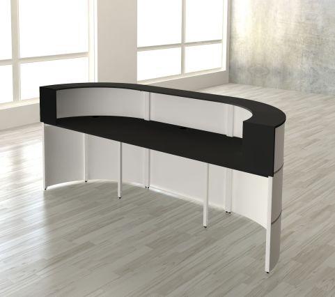 3856-CENTO Reception Desk-3A-rear View