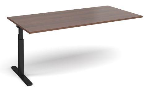 Elev9 Boardroom Table Add On Walnut