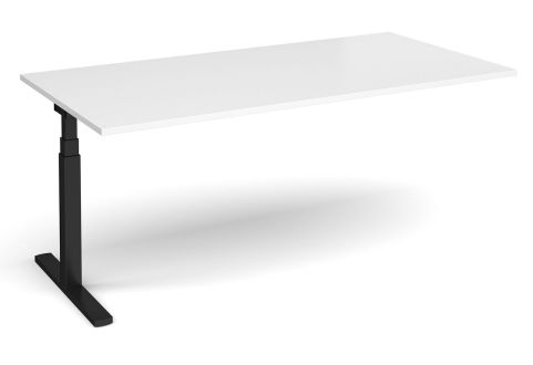 Elev9 Boardroom Table Add On White