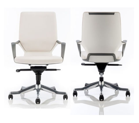 Atomic White Executive Chair