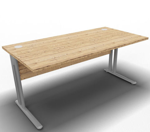 Optimize Single Desk Timber