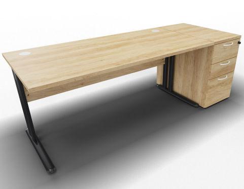 Optimize Single Desk And Ped Nebraska
