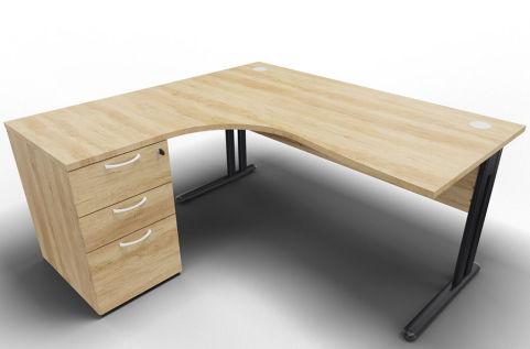 Optimize Left Hand Corner Desk And Ped Nebraska