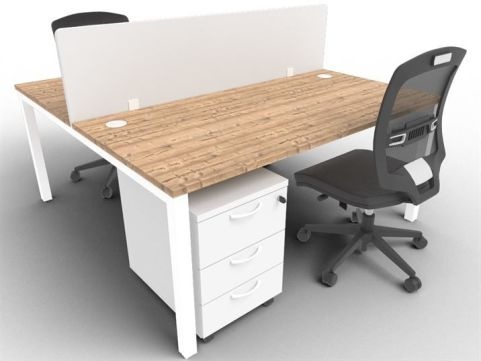 Buro Bench Two Person Bench And Screen Package Deal Timber Mood View