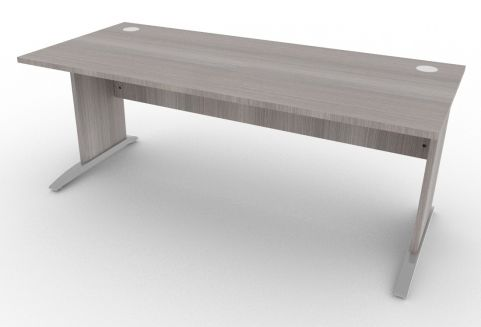 Osmose Rectangular Cantilever Frame Desk Cedar 1800mm