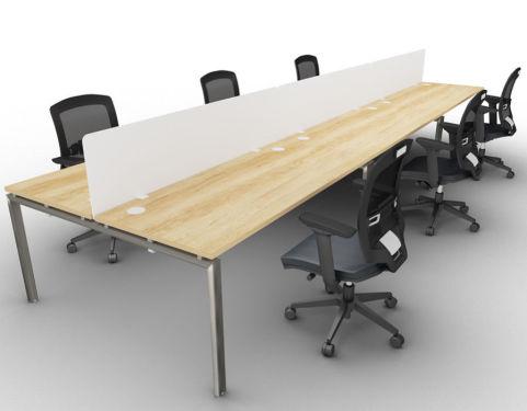 Saturn Six Person Table Nebraska Oak