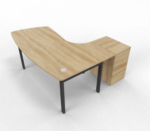 Saturn Executuive Desk Corner Desk