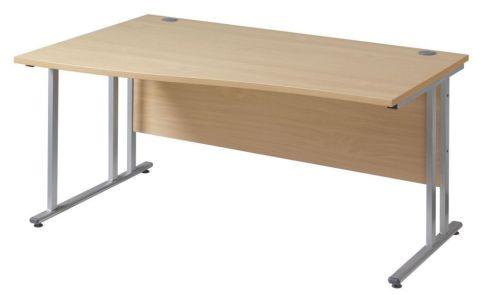 GM Left Hand Wave Desk Cantilever