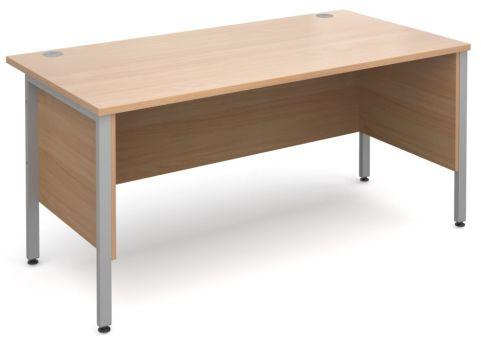 GM H Frame Desk Side Panels In Beech
