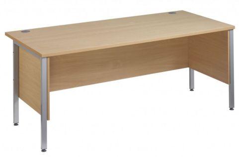 GM H Frame Desk With Side Panels