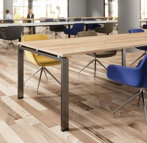 Saturn Boardroom Table Close UP Boradroom Table