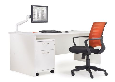 GM Panel Side Desk White Mood View