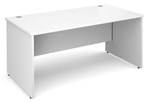 GM Panel Side Desk White