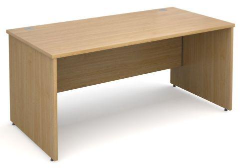 GM Panel Side Desk Oak