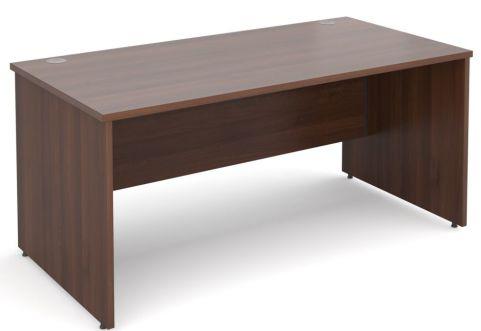 GM Panel Side Desk Walnut