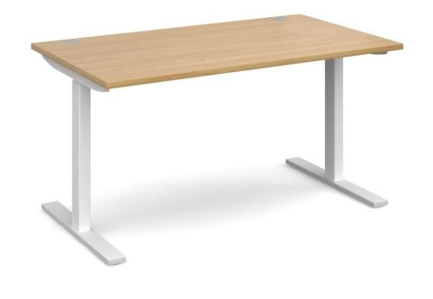 Elev8 Mono Desk Oak