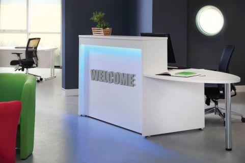 MG Reception Desk With Welcome Desk