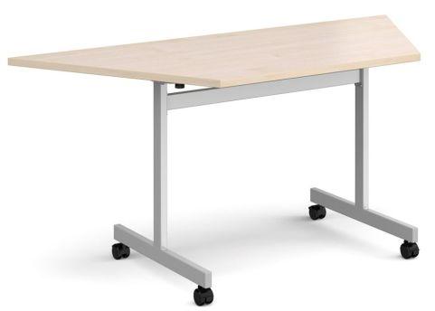 Gm Trapezoidal Flip Top Table Maple