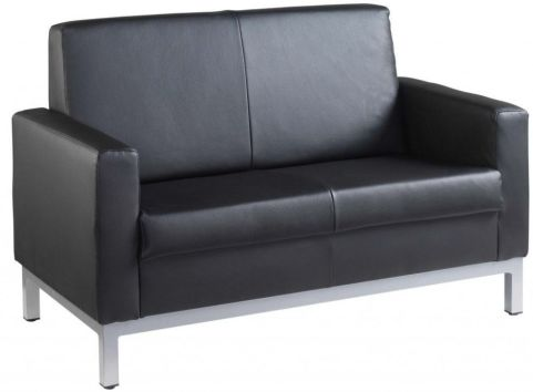 Monal 2 Seater Leather Sofa