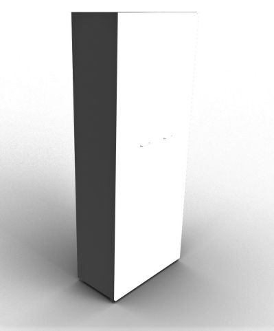 Quad 2140mm Wardrobe Anthracite And White