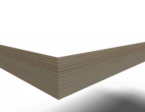 Trizle Bench Dining Set Plywood Edge