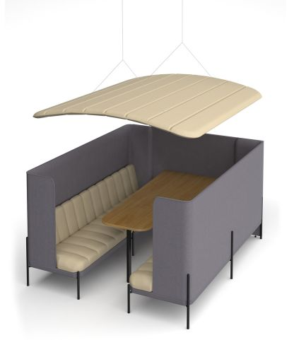 Kastaway 8 Person Booth With Canopy