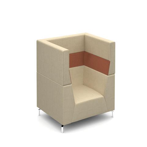 Alban High Back Single Seater