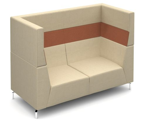 Alban High Back Two Seater Sofa