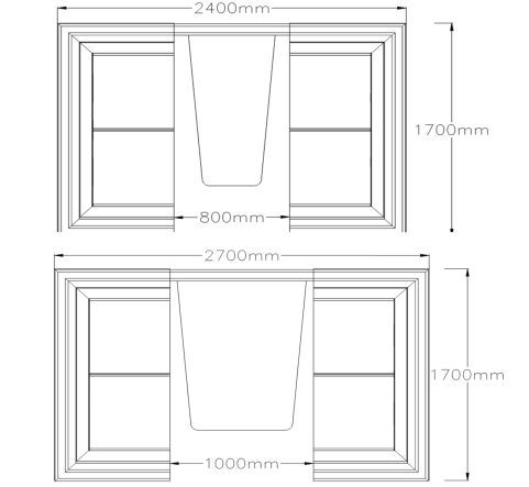 Four Seater Pod Dimensions