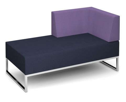 Nera Double Bench With Left Hand Back And Arm