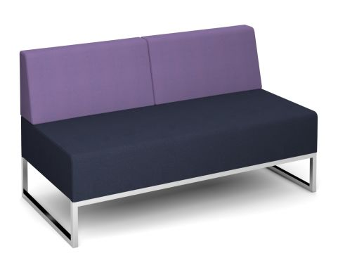 Nera Double Bench With Back