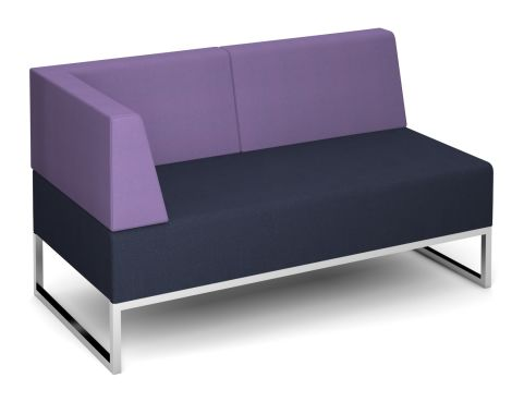 Nera Double Bench With Back And Right Hand Arm