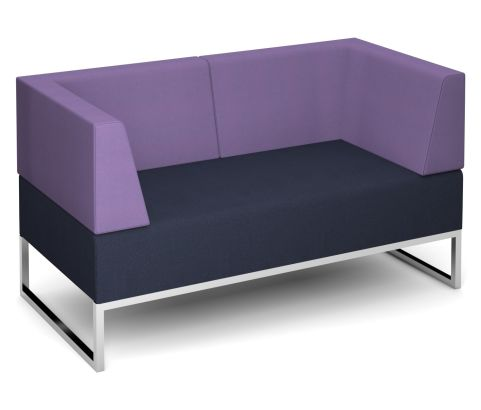 Nera Double Bench With Back And Arms