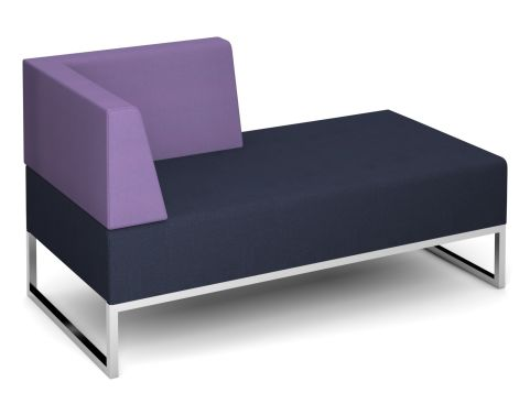 Nera Double Bench Right Hand Back And Arm