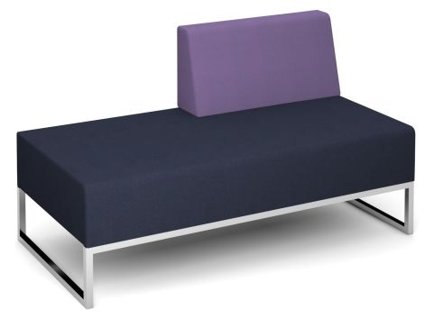 Nera Double Bench With Left Back