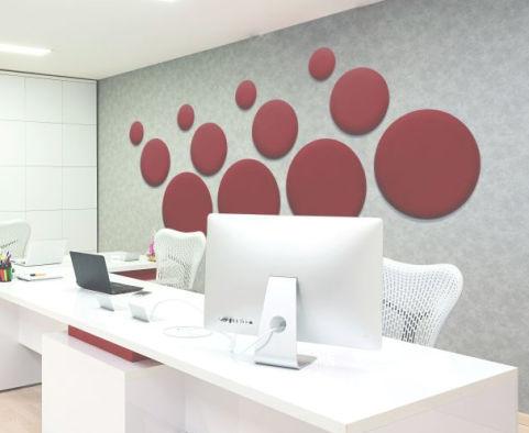 Circle Tiles Exec Office
