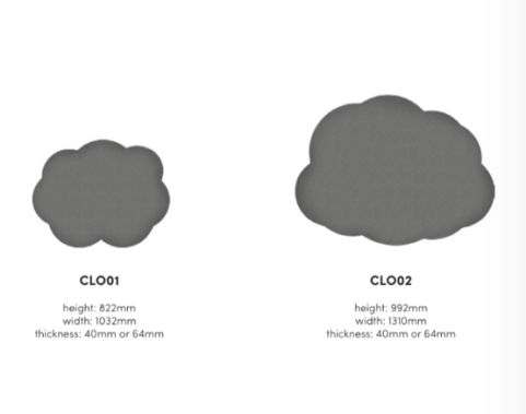 Haven Clouds Acoustic Tile Hanging Ceiling