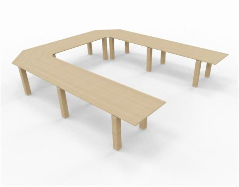 U Shaped Table Conference