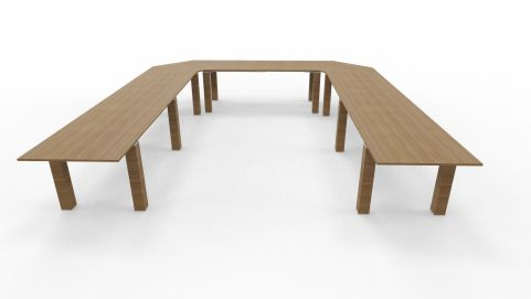 U Shaped Conference Table Stream Table