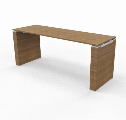 Panel Leg Desk 18mm Top