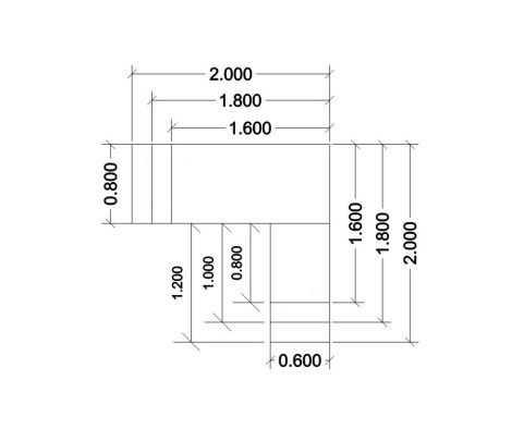Jet Exec Dimensions Wire Frame