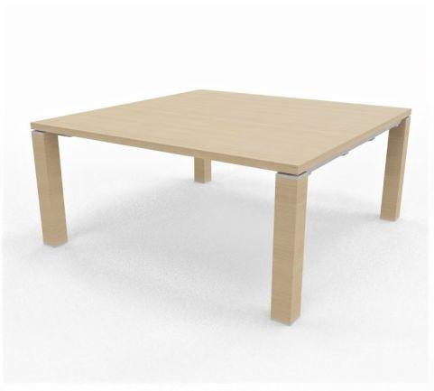 Square Table 1640mm X 1640mm Light Oak