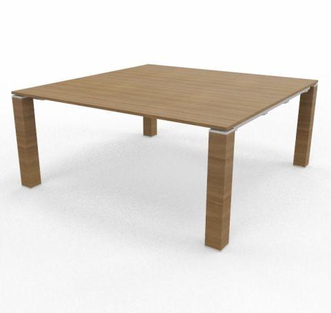 Square Table 1640mm X 1640mm Walnut