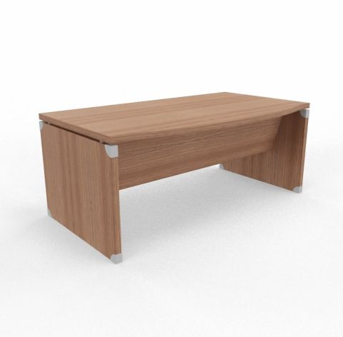 XPT 1800mm Panel Desk Top And Sides Caneletto Walnut