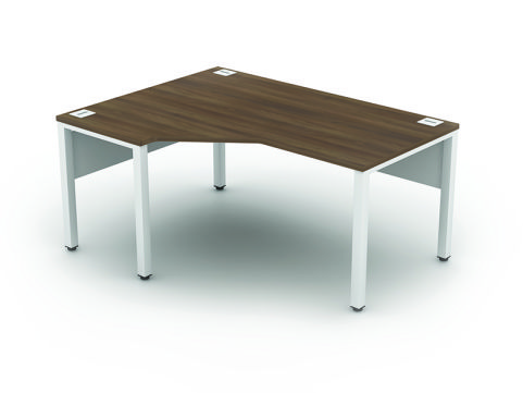 Avalon Corner Desk Left Hand Radial - APSPW14L