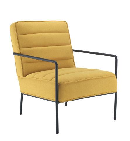Jade Reception Chair Mustard Yellow