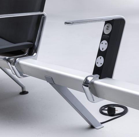 Mood Destination Beam Seating 2 X Power Modules And 2 X USB PORTS
