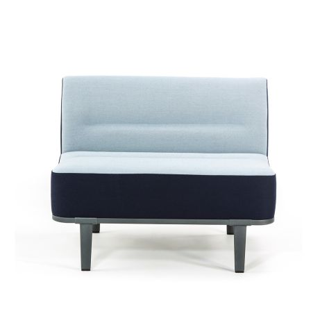 Mote Single Seater Sofa No Arms Front