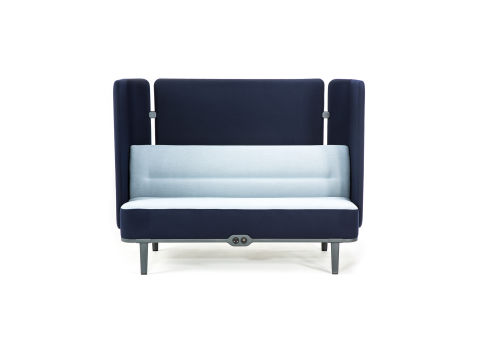 Mote Two Seater Sofa Rear Screen And Sides